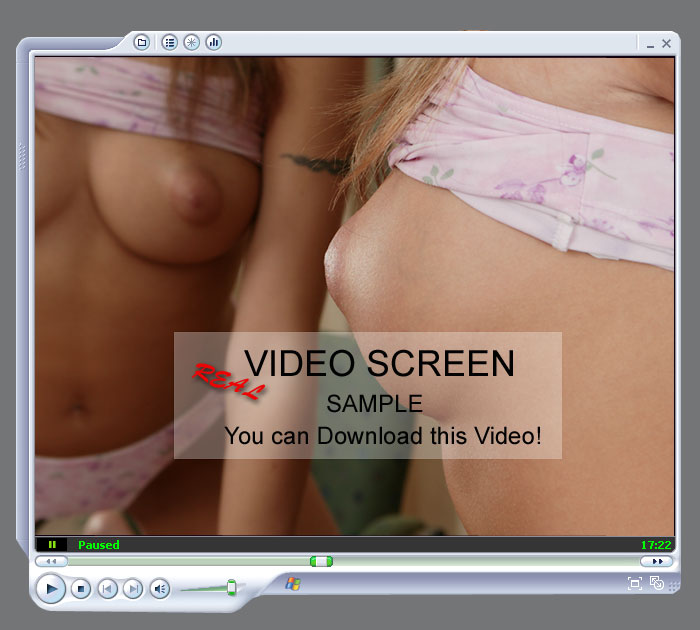 Huge video screen. You can download this movie! For members only..